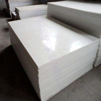 白色工程塑料PVC板材耐酸碱高硬度厂家直销