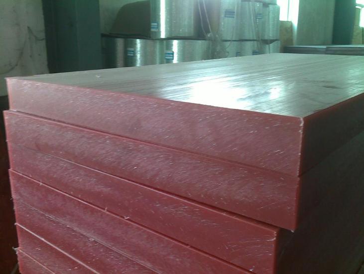 2021年供应红色A级PP斩板,裁断机垫板,塑胶板,冲床板25mm